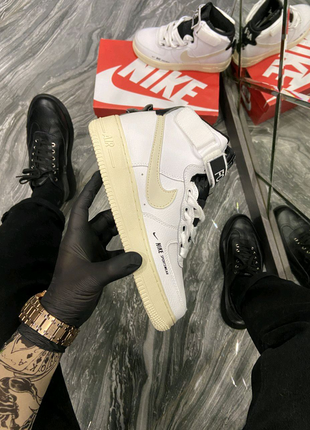 Кроссовки Nike Air Force 1 High Utility White Cream