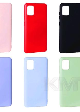 Чехол Soft Touch на Samsung A51, 71