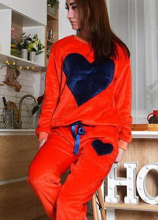 Mito плюш махровая пижама женская кофта штаны домашняя одежда ...