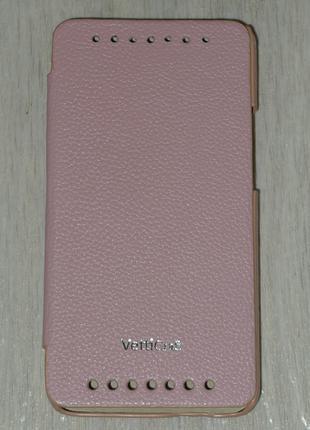 Чехол Vetti для HTC One M7 розовый 0102