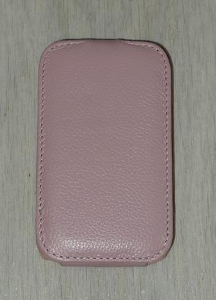 Чехол Vetti для HTC Desire C A320e розовый 0103