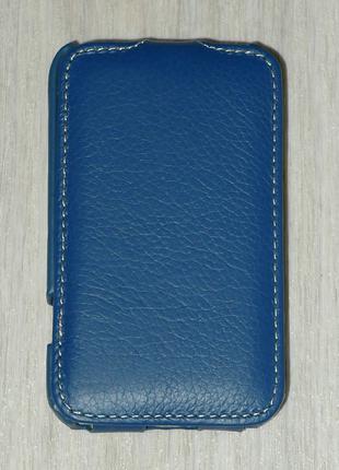 Чехол Vetti для HTC Desire 200 синий 0104