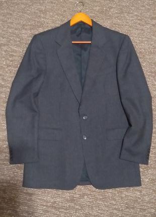 Мужской пиджак l размер 100 % шерсть czechoslovakia