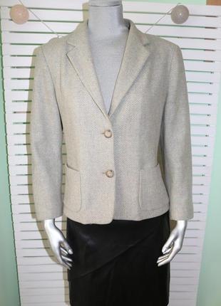 Шерстяной пиджак max mara
