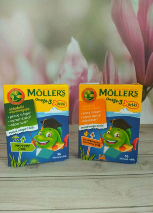 Омега-3 Mollers 36 рибок