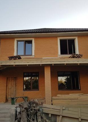 Проектирование дома. Строительство частного дома в Одессе. Дизайн