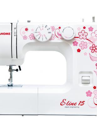 Швейная машина Janome Eline 15