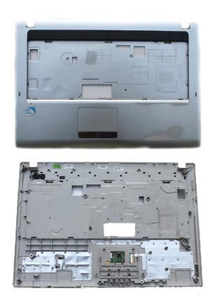 Верхняя часть корпуса, палмрест ноутбука Samsung RV408