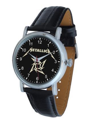 Часы мужские наручные кварцевые рок-группа Металлика
