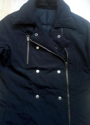 Пальто на пуху sisley, р.s