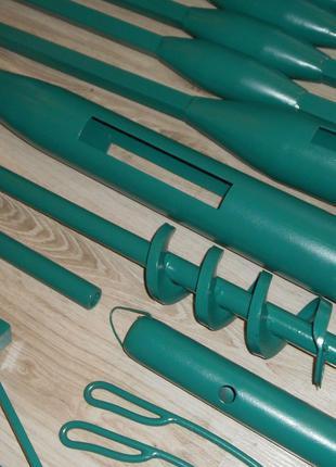 Бур для бурения вручную до 12 метров, диаметр 120 мм