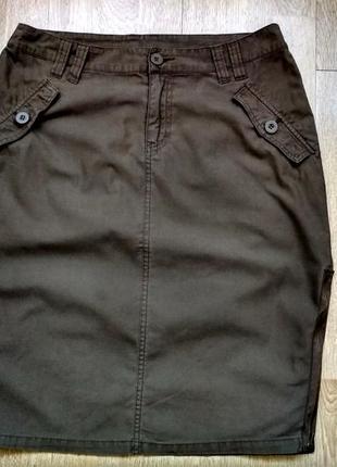 Классная юбка h&m, р.38
