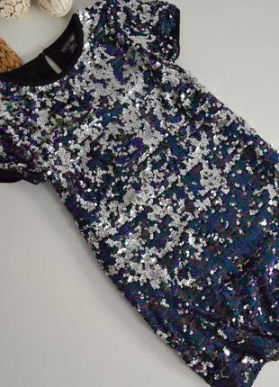 Шикарное платье на 9-10л.