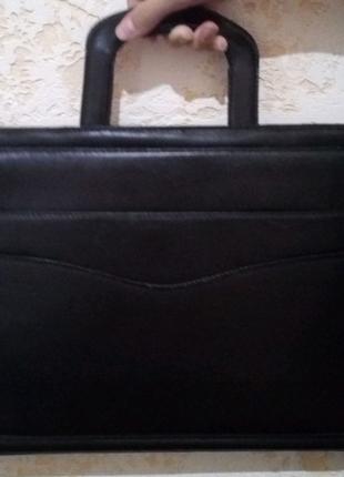 Кожаная(мужская) сумка