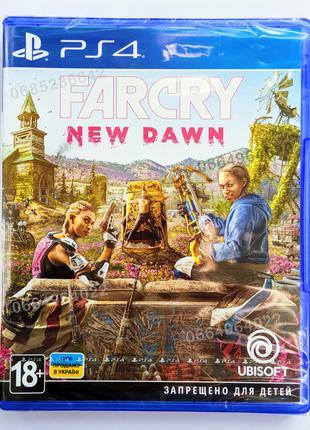 FAR CRY New Dawn PS4 НОВЫЙ диск | РУС версия