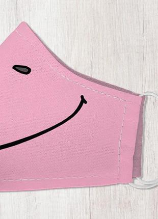 Маска защитная для лица, размер m-l smile (lmm_20ng012)