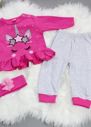 Красивый костюм для малышек