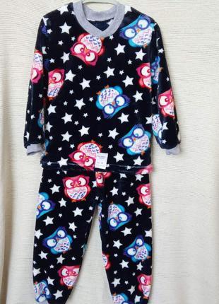 Пижама махра детская совуньи