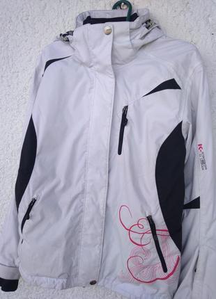Куртка лыжная k - tec thermolite женская m мембрана 5000 water...