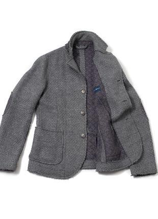 Gas spitz blazer jacket мужская куртка с плотной вязаной ткани