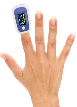 Пульсоксиметр пульс оксиметр на палец портативный хорошее качеств