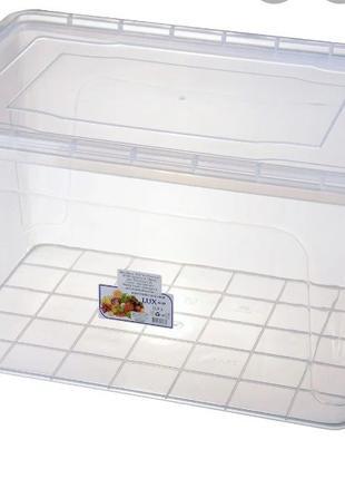 Контейнер для улиток на 23 л, пищевой контейнер на 23 л / конт...