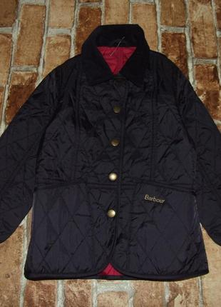 Куртка стеганка 4-5 лет barbour
