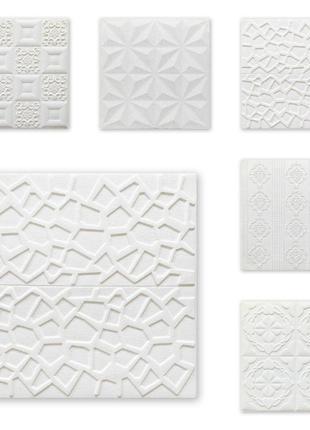 Самоклейка декоративна 3D панель потолочна 700x770x5мм