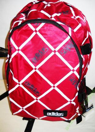 Рюкзак спортивный городской ADIDAS 0965 красный
