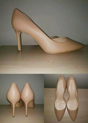 Лодочки 43-44 р кожа туфли большой размер