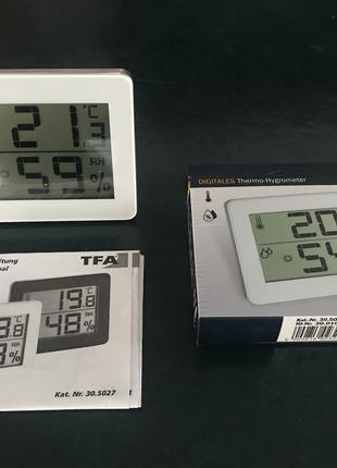Термогигрометр цифровой TFA Dostmann 30.5027.02