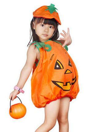 Костюм тыквочки на хеллоуин или новый год