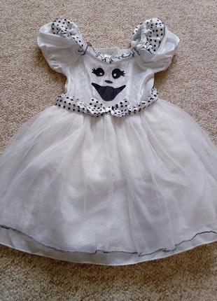 Платье на хеллоуин или новый год