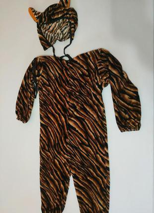 Новогодний карнавальный костюм кошечки, тигра на 2 года