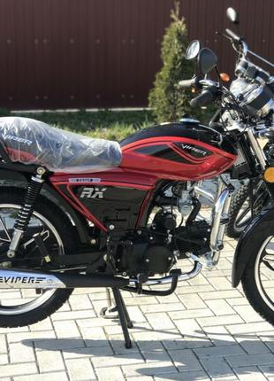 Скутер Мопед Мотоцикл ALPHA RX NEW 125R КРАСНЫЙ Альфа Новый НА...