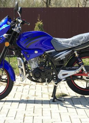 Мотоцикл Вайпер Скутер Мопед VIPER V150А Баланс СИНИЙ Наложка ...