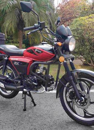 "Мопед Viper ALPHA RX 125 Мотоцикл Вайпер Красный V125R "" ALPHA..."