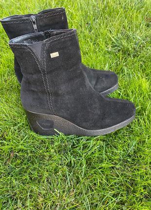 Ботинки сапожки полусапожки зимние Rieker