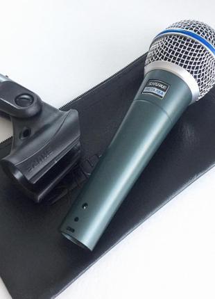 Новый профессиональный шнуровой микрофон SHURE Beta 58 A.