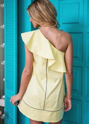 Нежное мини платье - сарафан - колокольчик