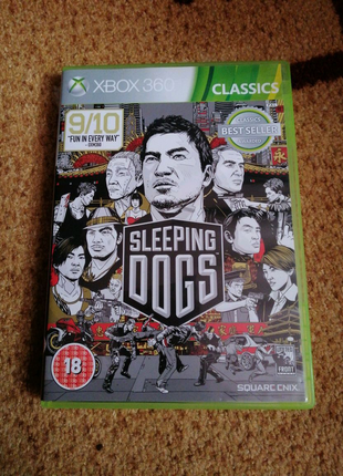 Игры на xbox 360 sleeping Dogs, watch dogs, Farcry4