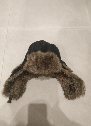Мужская шапка ушанка трансформер