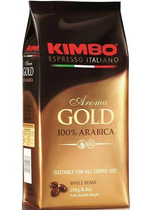KIMBO AROMA GOLD 100% ARABICA кава в зернах 1 кг