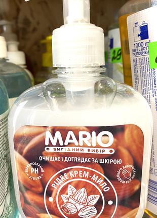 Крем мыло Mario Миндаль 300 мл