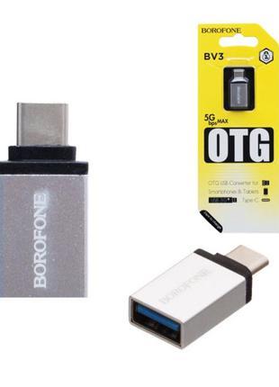 адаптер переходник ОТГ type-c