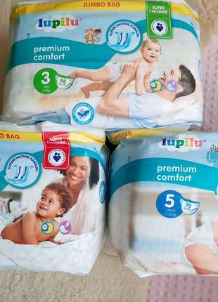 Подгузники Lupilu Premium Comfort 3, 4