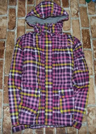 Куртка девочке  термо зимняя лыжная 11 - 12 лет trespass