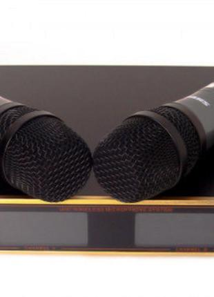 ХИТ Радиосистема Shure UK-88, база, 2 микрофона без предоплаты