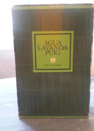 Vintage Antonio Puig Agua Lavanda - Eau de Cologne 200 Ml Rarity