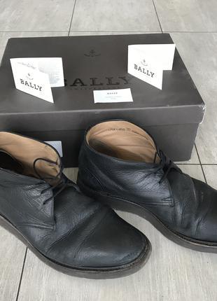 Ботинки Bally 42 оригинал туфли обувь сапоги балли ecco geox